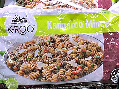 加工食品としてもカンガルー肉は使用されている