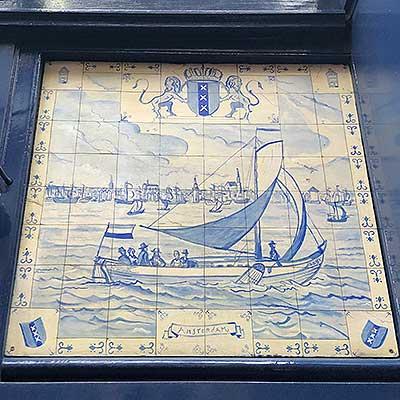 オランダ海軍のレリーフ