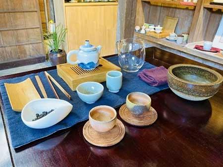 台湾特有の茶器で楽しむ
