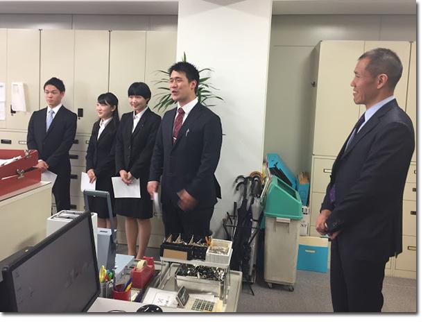 入社式ceremony2017_5